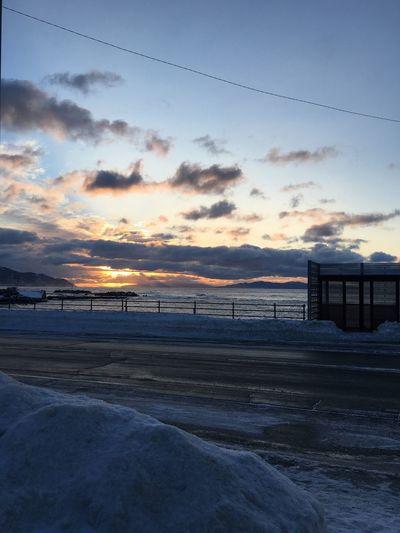 北海道最南の日の出