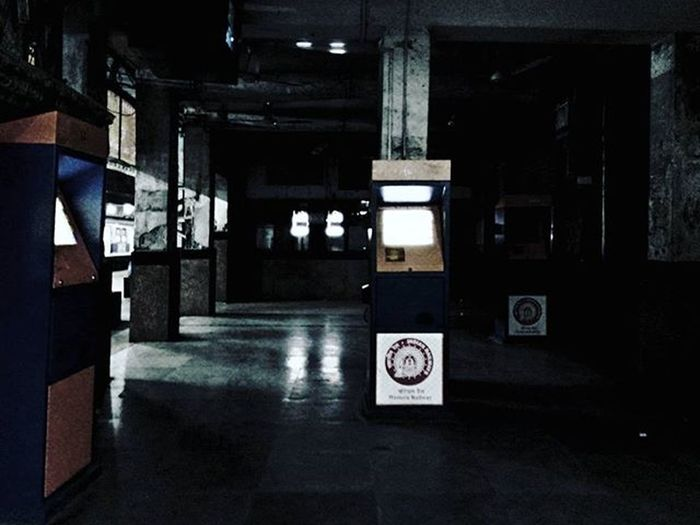 Scared of stations at night? Mumbailocal