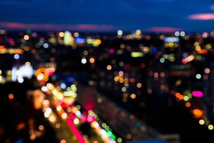 Berlin Blur Bokeh City Life Colorful Night Night Lights Street Sunset