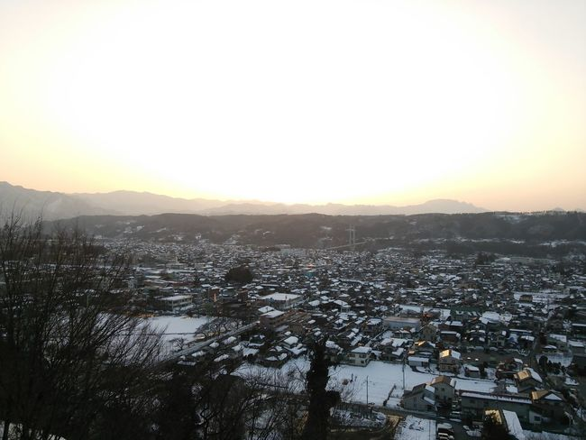 A view from a hotel last evening Nofilter Sunset Snow Collecton Landscape Photography