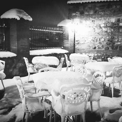 Bursa Bursakar Sümbüllübahçe Kar Karmanzarası Night Snow Snowynight Nostaji Streetlamp Tablessnow Snowfall