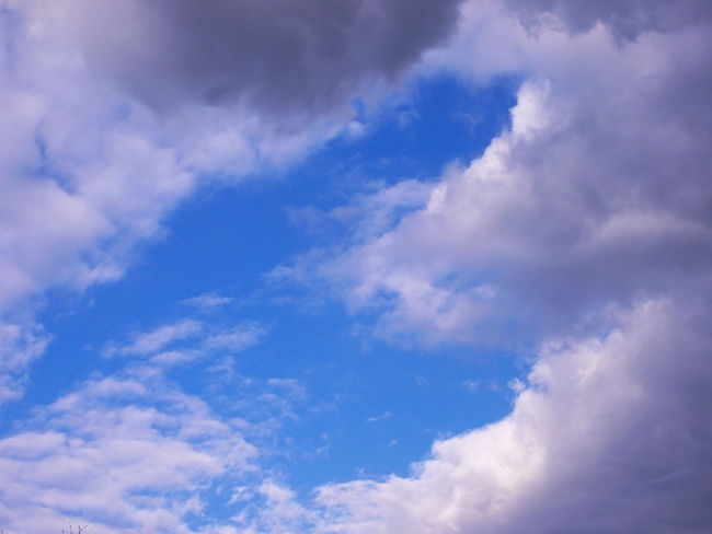 clouds and blue sky Cloudy Positive Vibes Atmospheric Mood Backgrounds Beauty In Nature Blue Bluesky Cloud - Sky Clouds Clouds And Sky Day Full Frame Heaven Low Angle View Nature Niceday No People Outdoors Scenics Sky Sky Only Softness Tranquility White Color
