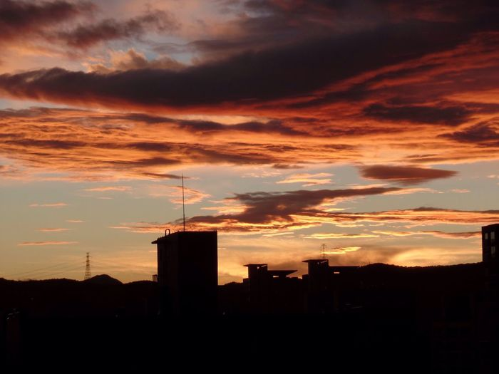 풍경 사진 취미 하늘사진 Sky Cloudy Sunset Beautiful Hobby Fall Picture Sky And Clouds