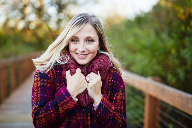 Adult Autumn Beautiful People Beautiful Woman Beauty Blond Hair Cold Temperature Day Focus On Foreground Happiness Leisure Activity Looking At Camera One Person One Woman Only One Young Woman Only Only Women Outdoors Portrait Scarf Smiling Warm Clothing Winter Women Young Adult Young Women