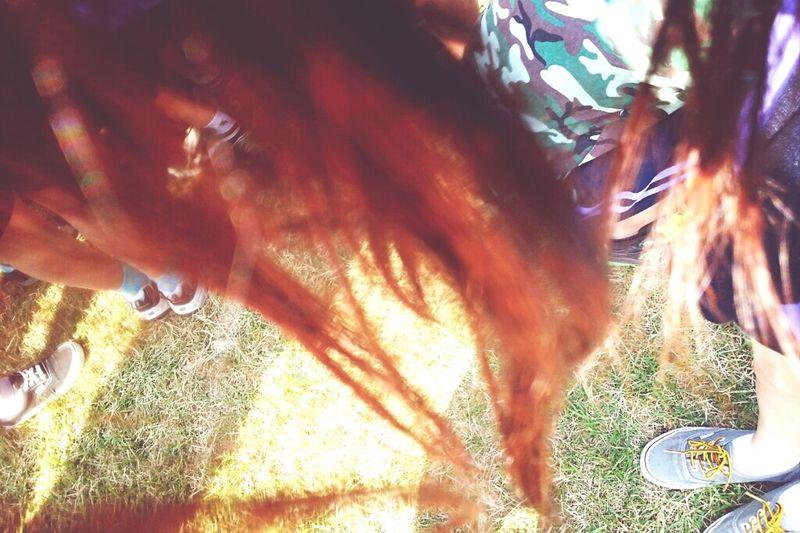 빨간머리가 되었네