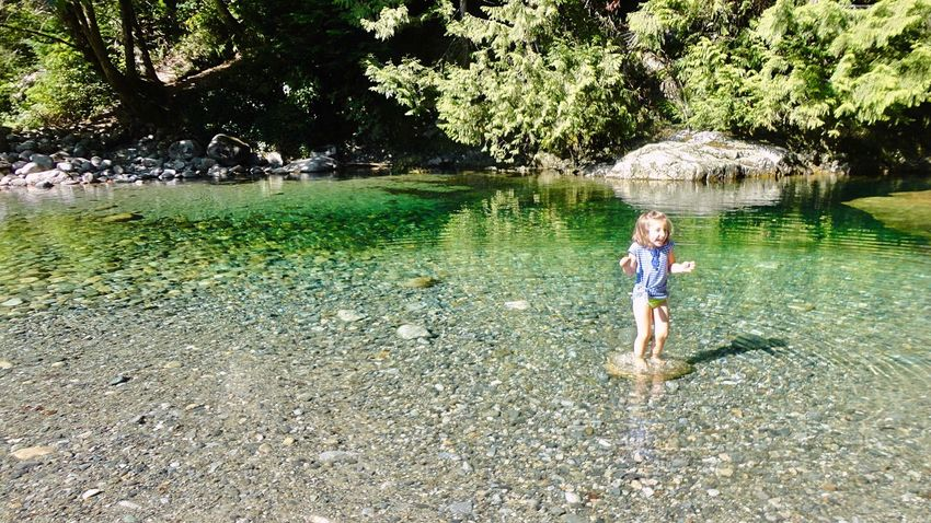 Lynn Canyon 💚 Lynnvalley North Vancouver,BC British Columbia Canada Vancouver Lynncanyon Pretty Girl Canada Coast To Coast Clear Water Beautiful Nature Lynncanyonpark River View Sunny Day Vancouverisawesome Cute Girl Smile Happyday EyeEm Best Shots Park Water_collection Outdoors バンクーバー カナダ