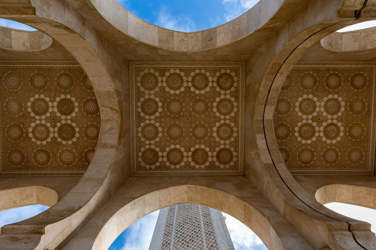 Architecture Low Angle View No People Built Structure Pattern Ceiling Design Indoors  Building Day Dome Arch Travel Destinations The Past Directly Below History Sunlight Architectural Feature Shape Ornate Cupola Architecture And Art Mural