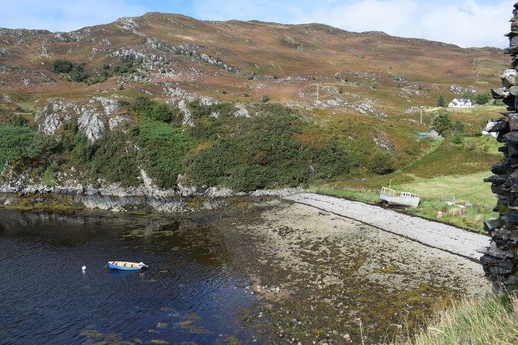 Beach Boat Ride Highlands Loch  Reckless Scotland Ship Reck Water