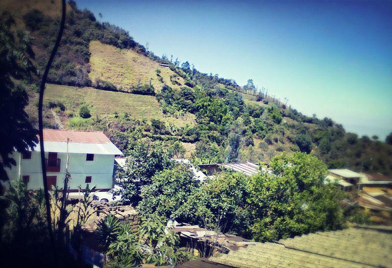 Privilegiada vista... En Frias - Piura Peru Hello World