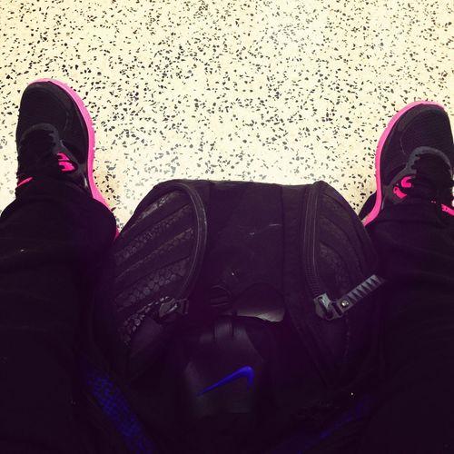 Waiting For Class #nike