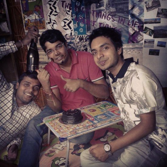 Birhday Party With Friends Brother Family My Room Night Red Whitewine Masti Delhi Wowow
