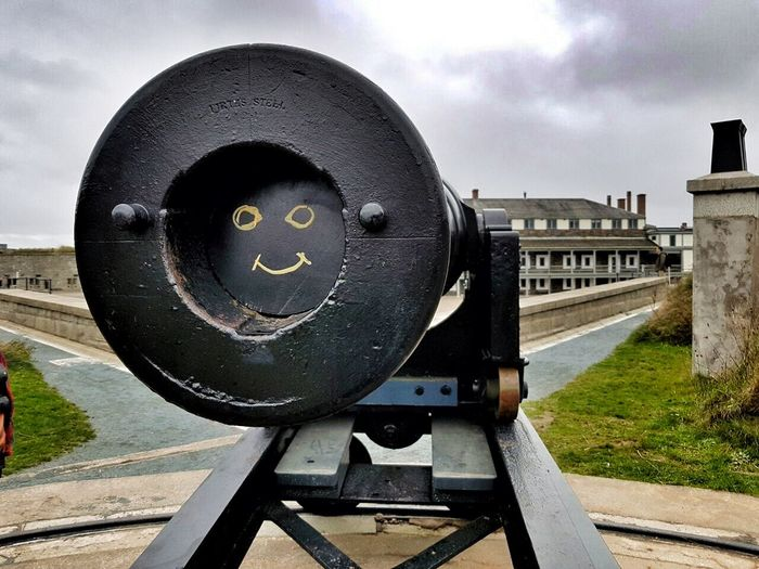 Cannon smiley. :-) No People Close-up Outdoors Day Cannon Citadel Citadel Hill Halifax Canada Smiley
