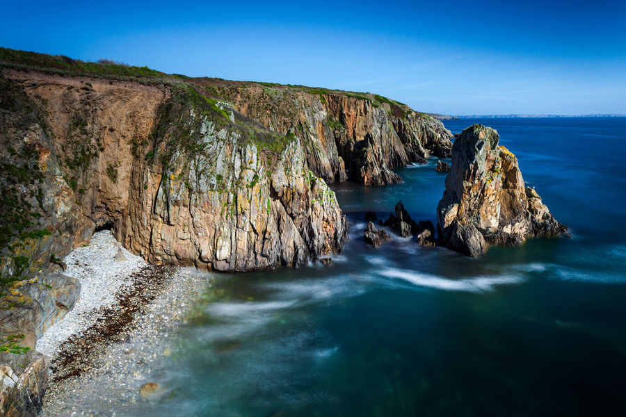 Cliffs Rock Formation Beauty In Nature Cliffside Costline Landscape Nature No People Physical Geography Scenics Sea Seaside Tranquil Scene Tranquility Water