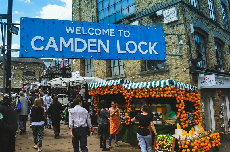 Camden Lock, London, UK