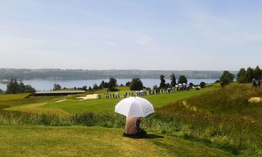Inauguración club de golf Patagonia Virgin, Frutillar. Golf Patagonia Virgin Frutillar  Chile Chile Golf Jacknicklaus