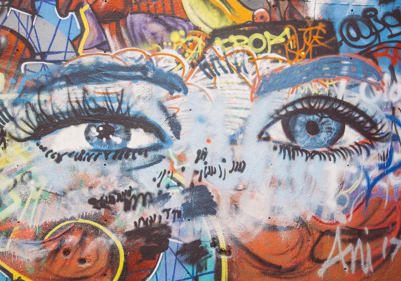 Architecture Art Art Is Everywhere BlueEyes Close-up Eyes Eyesight Full Frame Graffiti Graffiti Art Graffiti Wall Graffitti Human Eye Looking At Camera Openeyes Paint Painting Painting Art Paintings Photo Photography Photooftheday Portrait Street Streetart