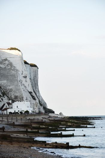 Moonraker Water Nature Beauty In Nature Scenics Sea Outdoors No People Mountain Day Sky Dover White Cliffs Of Dover St Margaret's At Cliffe Ian Fleming Ian Fleming's House House At The Cliffs Moonraker Kent Stony Beach Seaside The Week On EyeEm