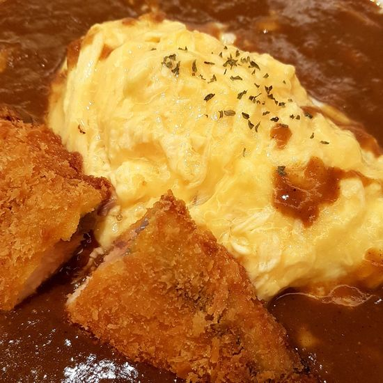 Food Curry Japanese Curry Egg Bangkok Thailand