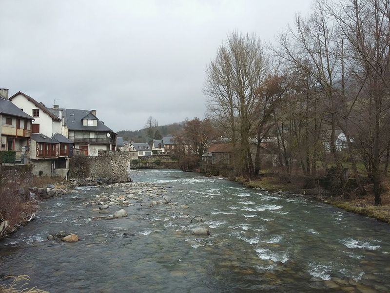 Somewhere in France. · River Buildings Architecture Rural Scene Rural Exploration Countryside Traveling