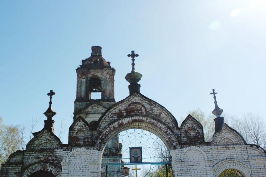 Pravdino Villiage Chearch Cathedral Russian Death