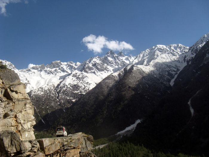 Mountain Winter Mountain Range Scenics Vacations Landscape Beauty In Nature Beauty In Nature Himachalpradresh Himachaltourism Himachaldiries Increadibleindia Himalayas Vacations Travel Destinations The Way Forward Road