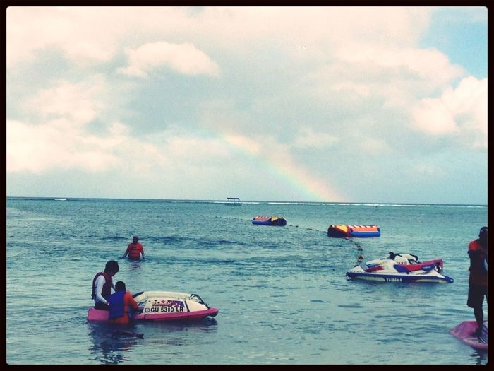 Banana Boat Guam Rainbow