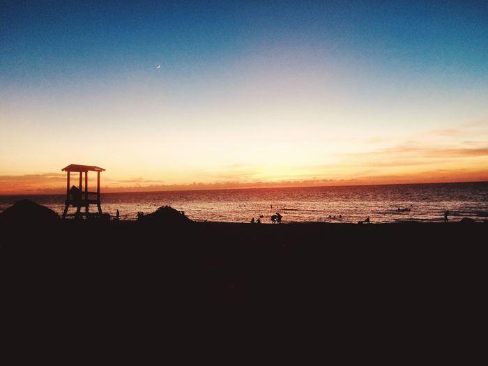 Sea Beach Water Sky Horizon Over Water Sunset First Eyeem Photo