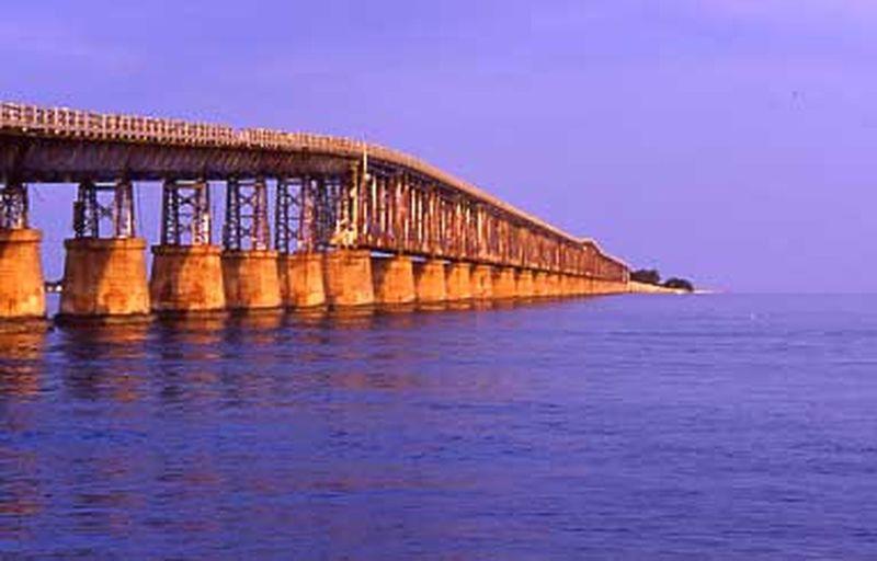 Architecture Bridge Bridge Keys Florida Keys Landscape USA