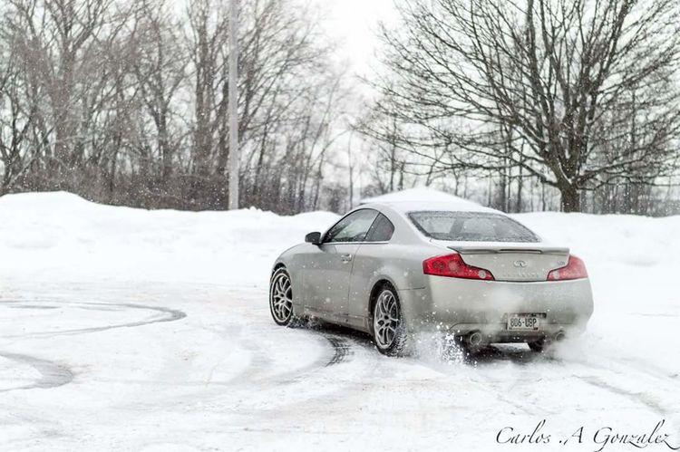 Beauty In Nature Automobile Auto Wisconsin Nikon D3200 Nikon Outdoors Winter Snow Fun Infiniti G35 G35driver Coupes