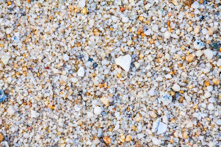 Close up view of hard sand texture for blur background Full Frame Backgrounds No People Textured  Close-up Nature Day Outdoors Abundance Large Group Of Objects High Angle View Solid Land Beach Stone - Object Pebble Stone Rock Sand Still Life