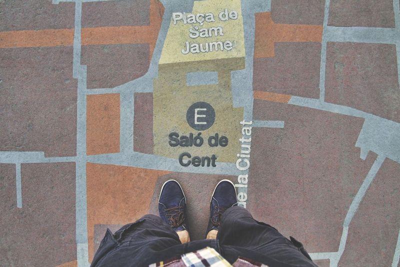 I'm starting to walk... Barcelona Walking Around Walking Around The City