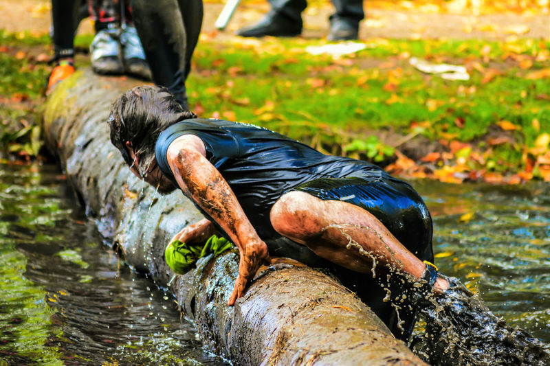 Even when you take a fall, you gotta get back up dust yourself off and go for it..... No one said life was gonna be easy.... Outdoors Water Dedication People Watching Real People Muddy Mayhem Splashing HardwickPark Sedgefield Photography People Photography Keep On Snapping For The Love Of Photography Muddyrace Words Of Wisdom...