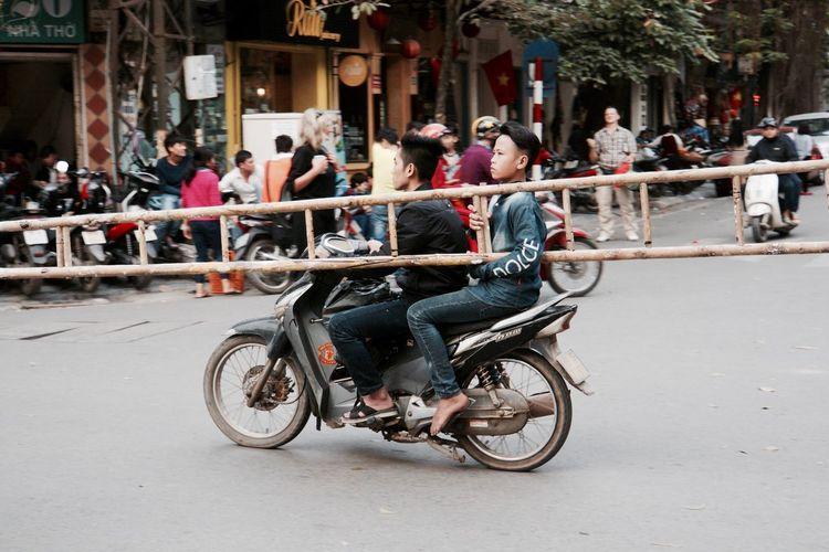 Moped Worker