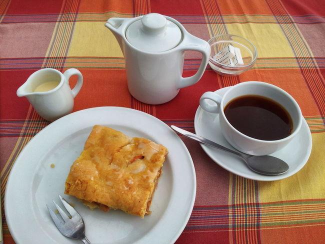 Draußen nur Kännchen! Kaffeepause Coffee Break Kaffee und Kuchen in Jork im Alten Land an der Este