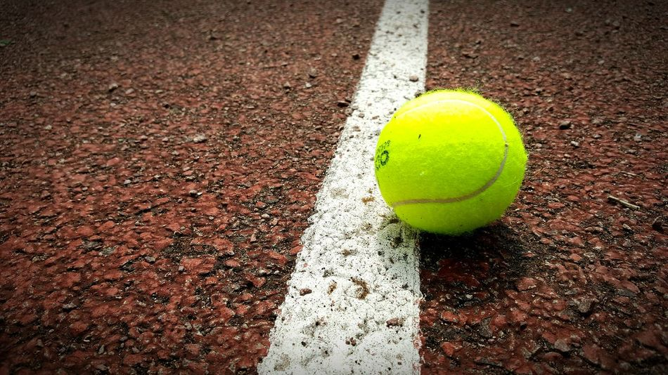 Tenniscourt Tennis 🎾 Close-up Tennisball Tennis Ball Tennis Practice Tennis <3 Tennis Game Balle De Tennis