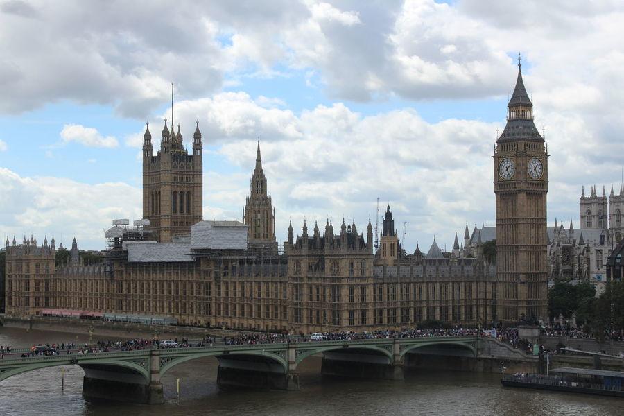 Big Ben Bridge - Man Made Structure Building Exterior City Clock Tower Houses Of Parliament Parliament Building Tourism Water Westminster Bridge