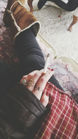 Marb Reds Red Nails Minnesnowta Flannel