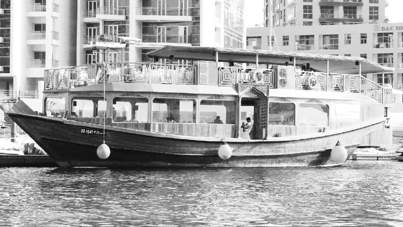 Transportation Nautical Vessel Mode Of Transport Architecture Building Exterior Built Structure Water Outdoors Day No People Dhow Dhow Boat Dhowcruise
