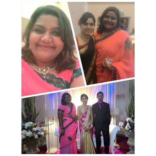 A successful marriage requires falling in love many times,always with the same person. Have a successful married life Big Anna & Sobana. It was awesome to finally meet you @chitra akka. <3 Weddingalltheway