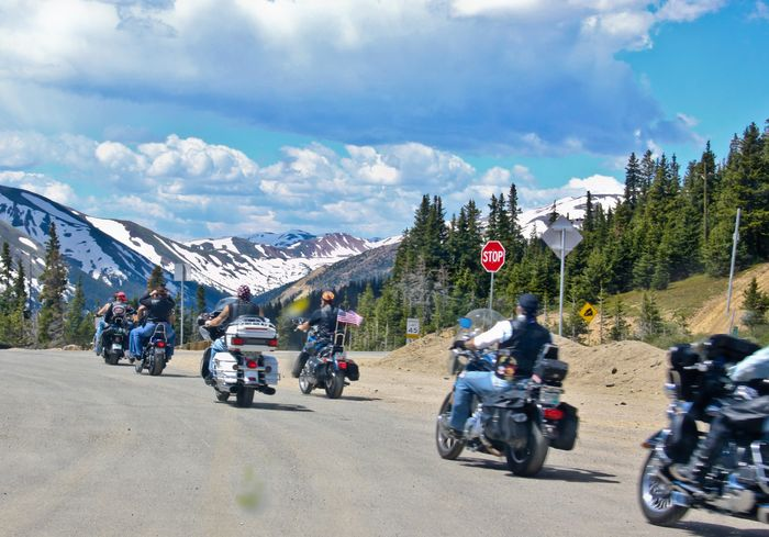 Been There. Motorcycle Sky Cloud - Sky Mountain Transportation Mode Of Transport Riding Land Vehicle Day Men Adventure Outdoors Road Real People Biker Crash Helmet Helmet Mountain Range Nature Lifestyles Rocky Mountains Colorado Patriotism Patriot