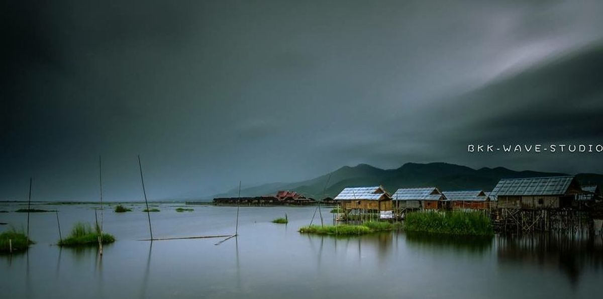 Long exposure of Innlay lake. @myanmar(Shan State) First Eyeem Photo Bkkwavestudio Travel Photography Landscape Photography Landscape_photography Long Exposure