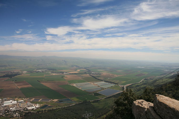 Amazing Landscapes of Israel, Views of the Holy Land Environment Landscape Scenics - Nature Beauty In Nature Tranquil Scene Sky Agriculture Tranquility Field Rural Scene Nature Cloud - Sky Day Patchwork Landscape Land No People Idyllic Aerial View Farm Non-urban Scene Outdoors