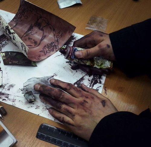 Ты же в художке, это норма Художка грязныеруки масляныекраски
