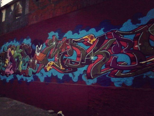 Graffiti Street Art Walking Around