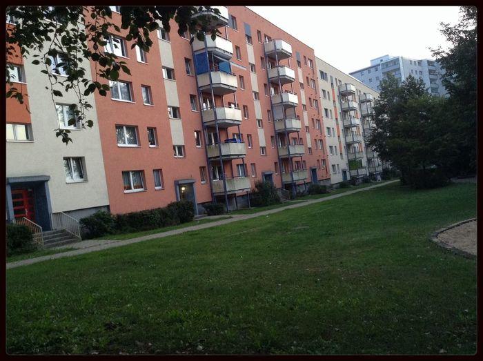 "Last Hours , Just Chillin' on the ""Hinterhof"" were I life the last 18 months !!! Good Bye , Hellersdorf"