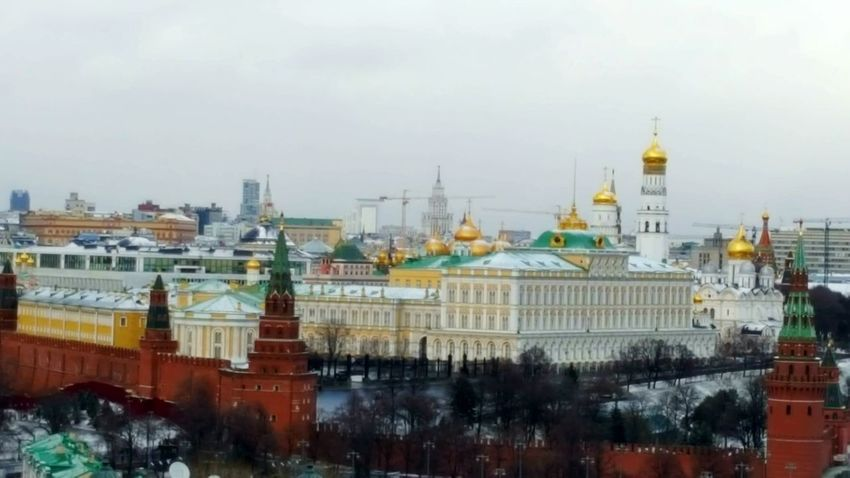 Cityscape City Architecture Building Exterior No People Outdoors Built Structure Winter Urban Skyline Day Politics And Government Sky Russia Moscow Kremlin Architecture Russia Kreml Kreml Moskau View From Above Kremlin Architecture