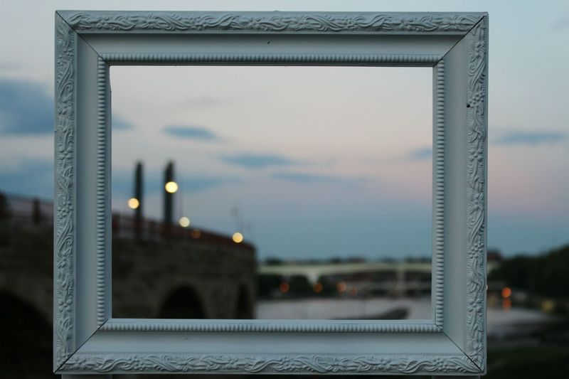 Minneapolis Sky Focus On Foreground Outdoors Built Structure Stone Arch Bridge Canon Canonphotography EyeEmNewHere