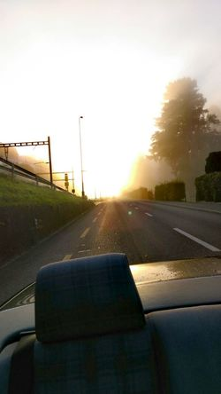 Cruising with the sun in the back☀ Sunset No People Road Rural Scene Car Day Sky Nature EyeEm Happy No Filter Eye4photography  EyeEm Best Shots Photo Outdoors Landscape Cabrio First Eyeem Photo Shine Autumn Seat Back Side Eyeemphotography Drive