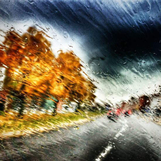 Rainy day Autumn Colors Bufalonewyork Buffalo Theroadlesstraveled