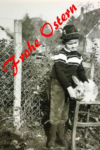 Frohe Ostern For My Friends That Connect 3XSPUnity Easter Easter Sunday Old Photo Old Photography Me Myself